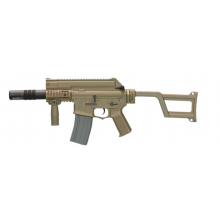 Ares Amoeba Tactical M4 AEG With Silencer (ARES-AM-005-DE - Tan)