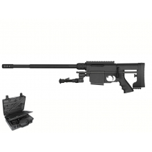 Ares MSR-WR Spring Sniper Rifle Kit with Case (Tool-Less Assemble - Tactical Case - MSR-WR)