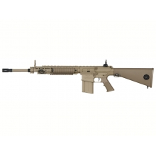 Ares SR25 DMR Sniper Rifle (Semi Only - 400 FPS - Tan - M110 - SR-009E)