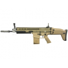 FN Herstal Scar-H Gas Blowback Rifle (200513 - Licensed by Cybergun - Made by WE - Tan)