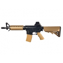 Colt M4 CQB-R Dual Tone Tan AEG (With Battery and Charger - Cybergun - 180834)