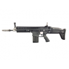 FN Herstal Scar-H Gas Blowback Rifle (200512 - Licensed by Cybergun - Made by WE - Black)