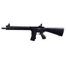 """Golden Eagle M16 13"""" Keymod Super Enhanced AEG (Fixed Stock - Inc. Battery and Charger)"""