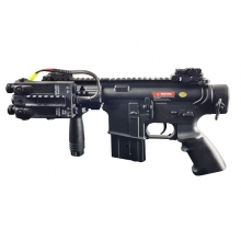 Golden Eagle M4 RIS CQB 'Assault' AEG (Black - Inc. Battery and Charger)