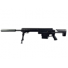 Golden Eagle Vanquish LMR Sniper Rifle with Silencer (450 FPS - Spring Bolt Powered)