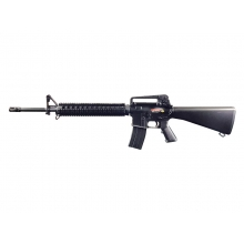 Golden Eagle M16A2 RIS Gas Blowback Rifle (Black)