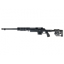 Well MB4411a PSG-1 Spring Sniper Rifle (Upgraded Steel Parts - Black)