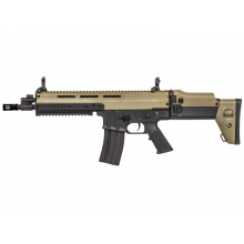 ISSC by Classic Army MK16 MOD Sports Line with Mosfet (Black/Tan - CA-SP102P-T)