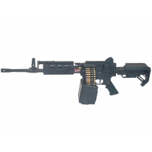 Golden Eagle MCR LMG AEG with Electric Drum Mag. L (2600 Rnds - with Battery & Charger - F6671)