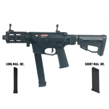Ares M45X-S with EFCS Gearbox (Black - AR-083E - Comes with extra  Mid-Cap and Low Cap Magazine)