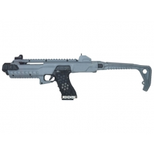 Armorer Works Gas Blowback VX Pistol with Tactical Carbine Conversion Kit (Urban Grey - AW-VX0301)