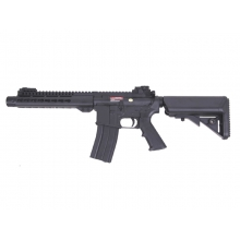 "S&T M4 Delta Keymod 9"" Gas Blowback Rifle (Black - ST-GBB-12-BK)"