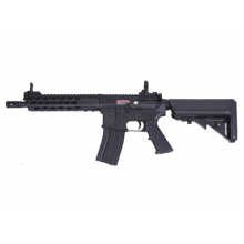 "S&T M4 Slant Cut Keymod 9"" Gas Blowback Rifle (Black - ST-GBB-12-BK)"