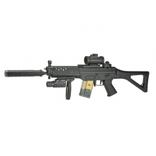 Double Eagle 555 AEG Rifle (M82 - Black)