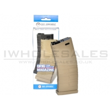 G&G 450 Round Hi-Cap Magazine for GR16 (Tan-Polymer) (G-08-034-1)