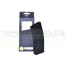 A&K M4 Flash Magazine (Metal - 350 Rounds - Black - A037-BK)