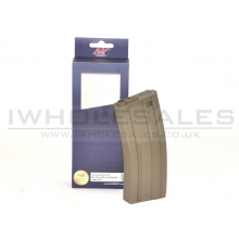 A&K M4 Magazine (ABS - 45 Rounds - Tan- A031-TAN)