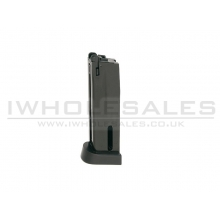 Kjworks M92/M9 Co2 Magazine (Metal - Black)