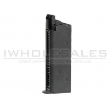 Army R45 Magazine (Gas - Full Metal - Black)