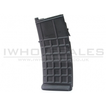 GHK AUG-A3 Co2 Magazine (30 Rounds - Black)