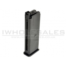 Armorer Works M712 Smuggler Blaster Gas Magazine (Black - Full Metal - 20 Rnds)