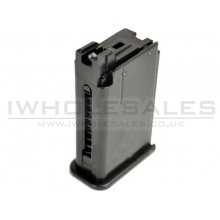 WE 712 Gas Magazine (Black - Metal - Small - MAG-712-S)