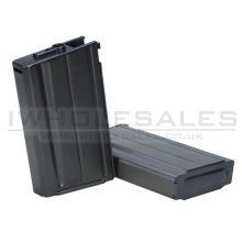 Ares L1A1 SLR High Cap Magazine (380 Rounds - Black - MAG-014)