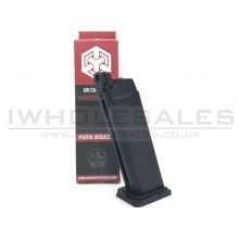 Armorer Works - Custom Hex-Cut Gas Magazine (AW-VXMG01 - 25 Rounds -  Black)