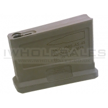 Ares Amoeba Striker Sniper Rifle Magazine Compact (45 Rounds - AS-MAG-002 - Tan)
