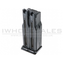 WE Makarov Double Barrel Gas Magazine (15x2 Rounds - Black)