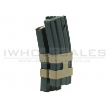 WE M4/M16 Double Chamber Gas Magazine (80 Rounds - Dummy Cartridge)