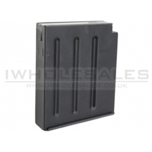 S&T ASW338 Spare Magazine (50 Rounds - Metal - Black)
