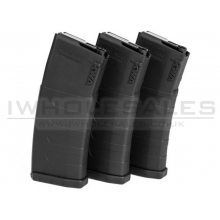 KWA K120C Mid-Cap Magazine (ERG/VM4 Series - Pack of 3 - 30 or 120 Rounds - 197-04110)