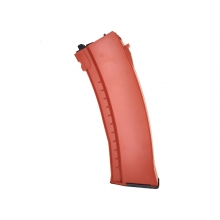 WE AK74 UN Gas Magazine (30+2 Rounds - Orange)