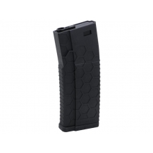 Dytac Hexmag Airsoft Polymer AEG Magazine (120 Rounds - Black)