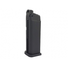 Saigo 27/28/29 Series Gas Magazine (23 Rounds - Black)
