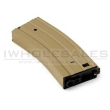 Battleaxe - M16 Hi-Cap Magazine - 450 Rounds (Metal - B618 - Tan)
