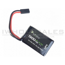WE Battery 1300mAh Lipo 11.1V 20C Micro Max (PEQ/AN-15)