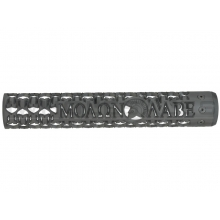 "Unique ARs CNC Machined Molon Labe Handguard for AR15 Pattern Rifles (Black - 12"" - With Airsoft Barrel Nut)"