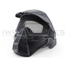 Big Foot Tactical Full Face Protection with Eye Protection (Re-Enforced) (Black)
