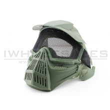 Big Foot Tactical Full Face Protection with Eye Protection (Re-Enforced) (OD)