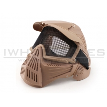 Big Foot Tactical Full Face Protection with Eye Protection (Re-Enforced) (Tan)