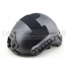 Big Foot Fast Helmet (MH type without Hole) (Black)