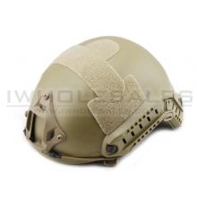 Big Foot Fast Helmet (MH type without Hole) (Tan)
