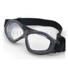Big Foot Clear Glasses (Black)