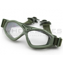 Big Foot Clear Glasses (FAST Helmet Adapted Version) (OD)