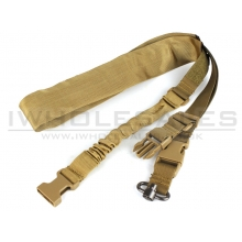 Big Foot Spring Sling with Ring (Nylon) (Tan)