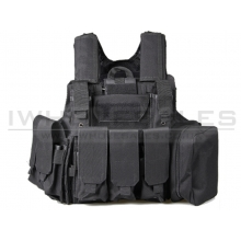 Big Foot C.I.R.A.S 600D Plate Carrier (Black)