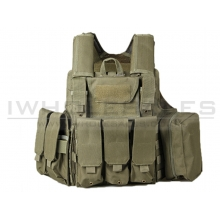Big Foot C.I.R.A.S 600D Plate Carrier (Green)