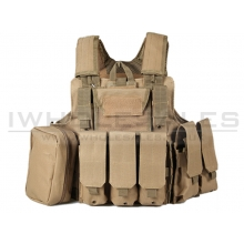 Big Foot C.I.R.A.S 600D Plate Carrier (Tan)